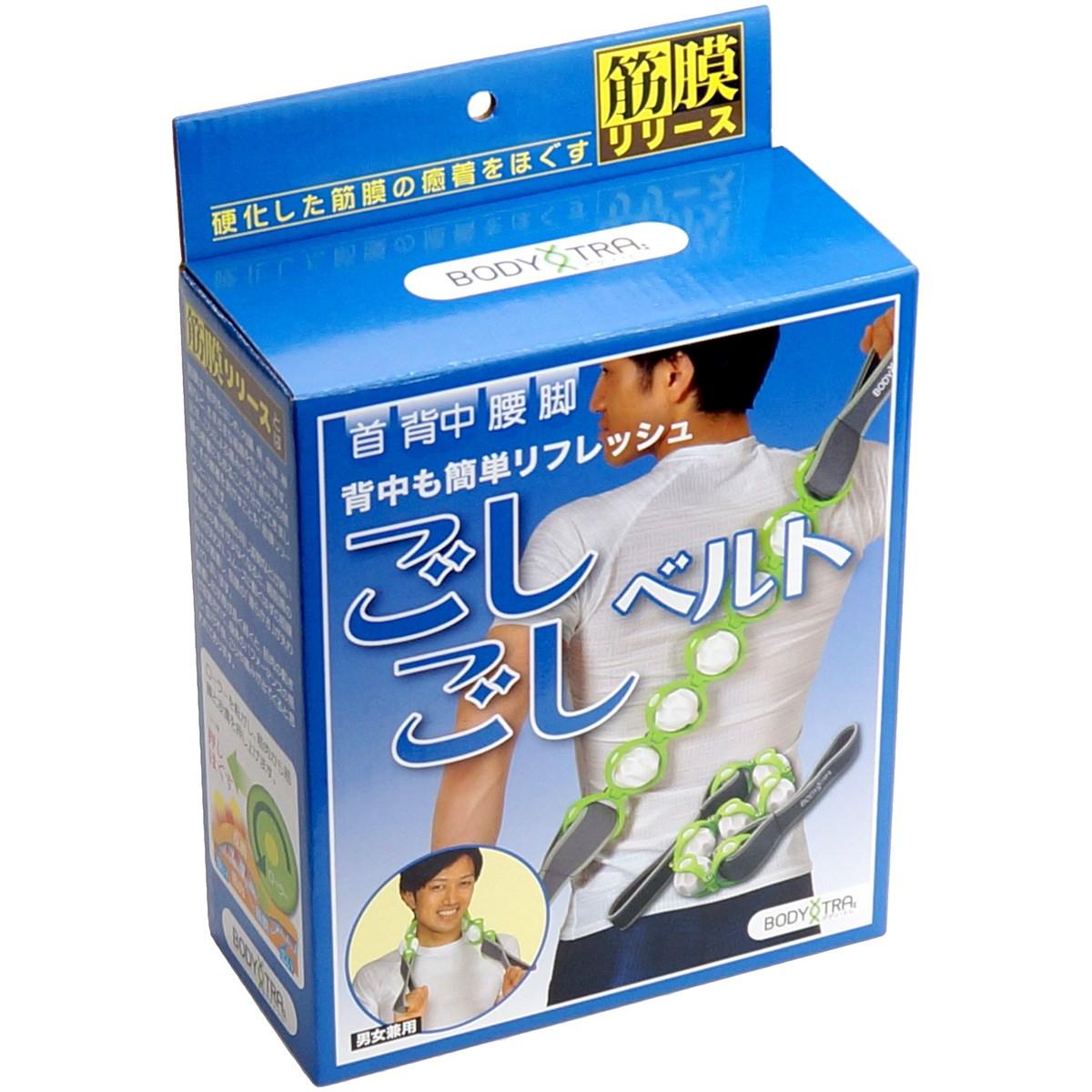 朝日ゴルフ用品 ASAHI GOLF Bodyトレ 筋膜リリース フォームローラーベルト ごしごしベルト ホワイト