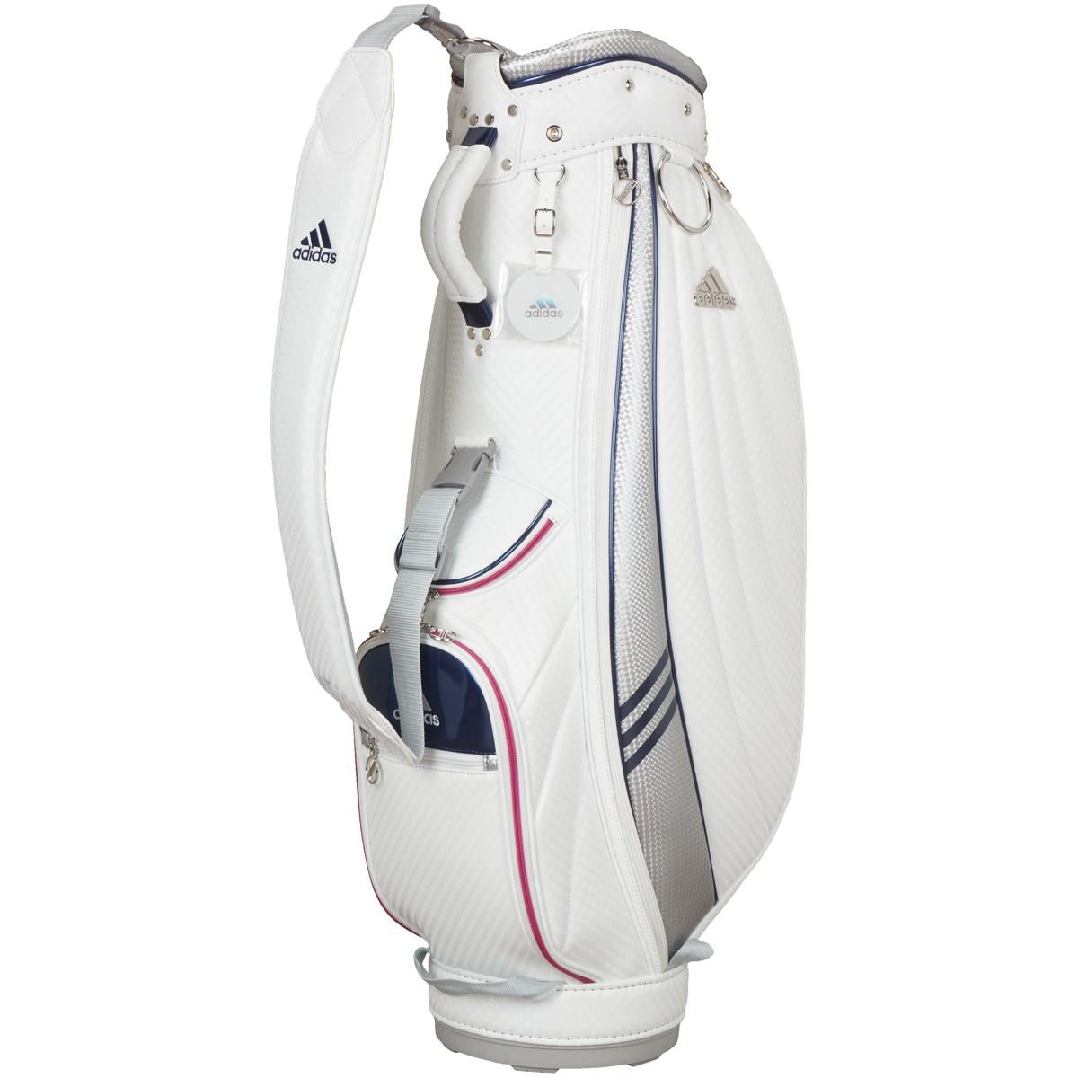 アディダス Adidas キルティングキャディバッグ ホワイト レディス