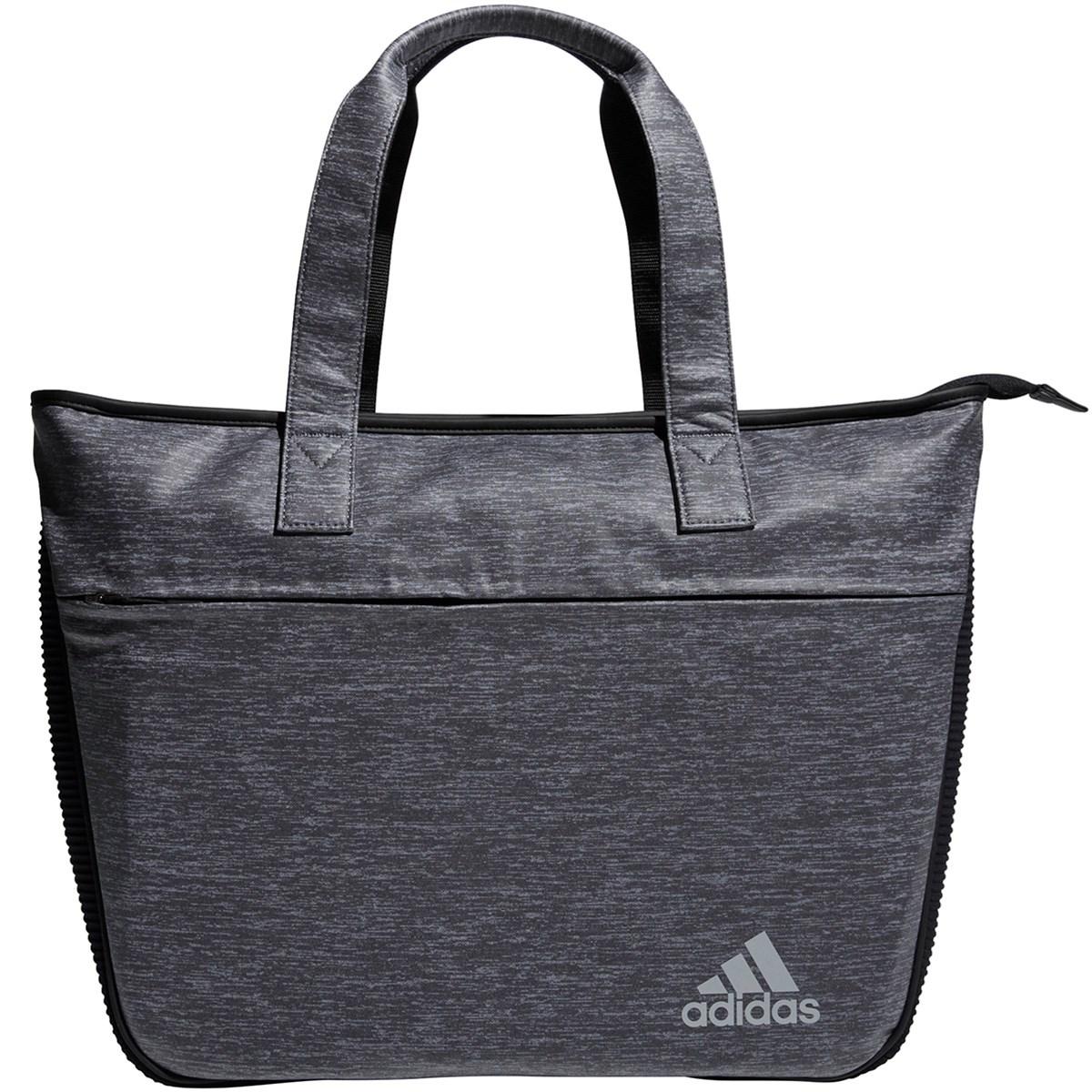 アディダス Adidas コーティングヘザー トートバッグ ブラック