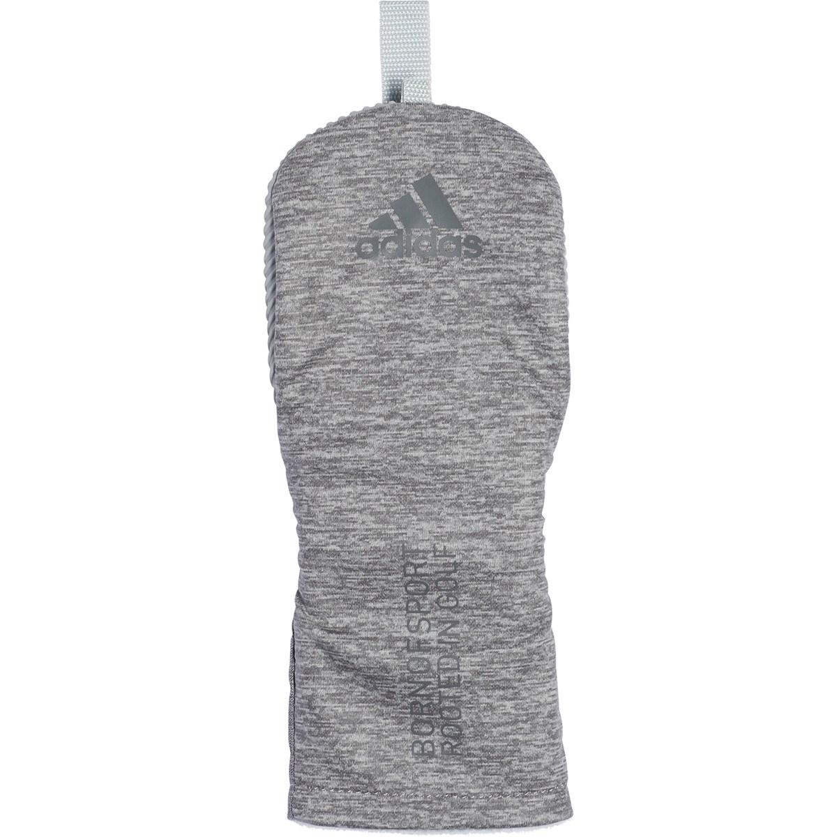 アディダス adidas コーティングヘザー ヘッドカバー FW用 ライトグレー メンズ ゴルフ