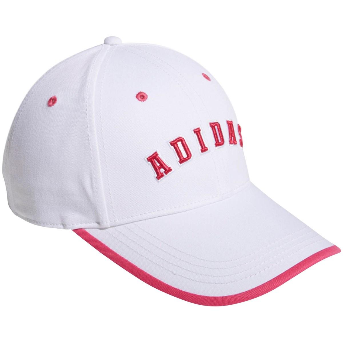 アディダス Adidas ADICROSS ツイルキャップ フリー ホワイト/ピンク レディス