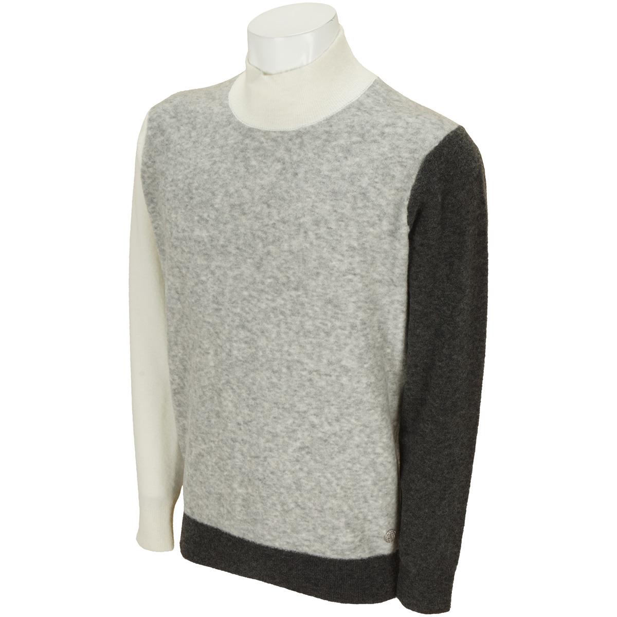 カシミヤ混 ハイネックセーター