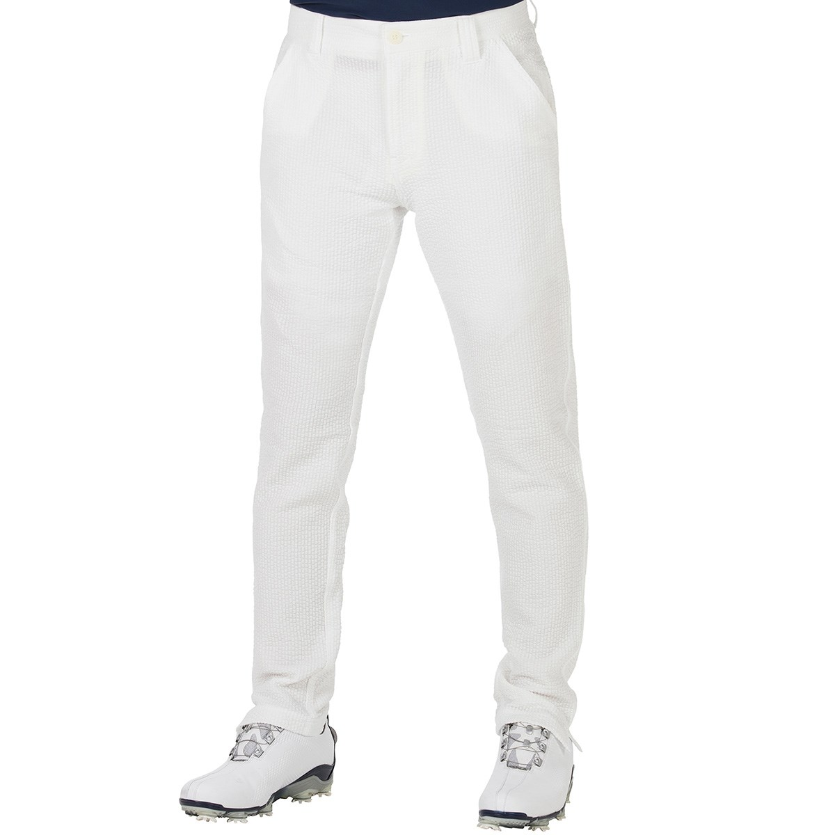 GDO オリジナル GDO ORIGINAL サッカージャージパンツ 股下79cm 1:ウエスト目安75-77 ホワイト