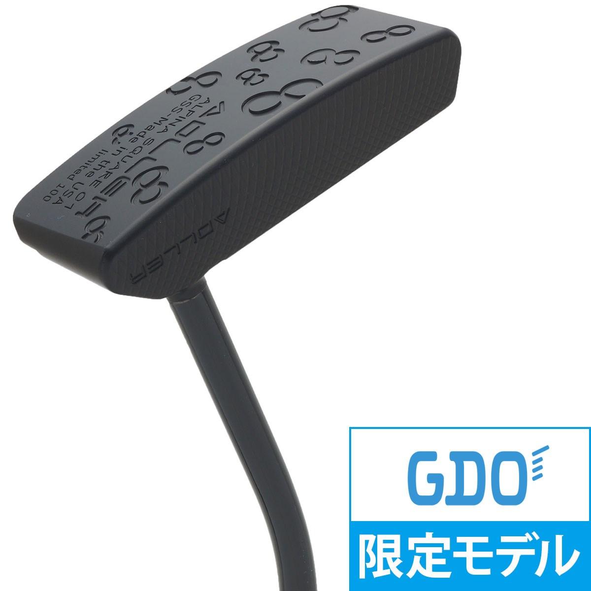 アドラージャパン アルピナ SQUARE01 ブラックリミテッド パター