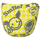 <ゴルフダイジェスト> [アウトレット] [値下げしました] WINWIN STYLE SMILE No1. パターカバー ゴルフ