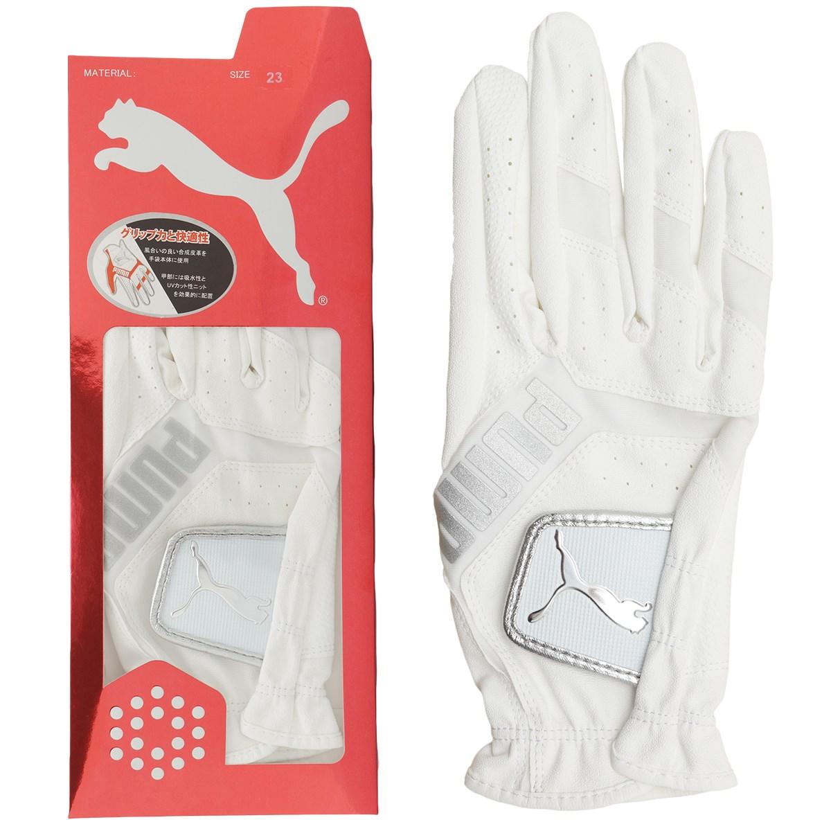 プーマ PUMA 3D リブート グローブ レフティ 21cm 右手着用(左利き用) ブライトホワイト 01