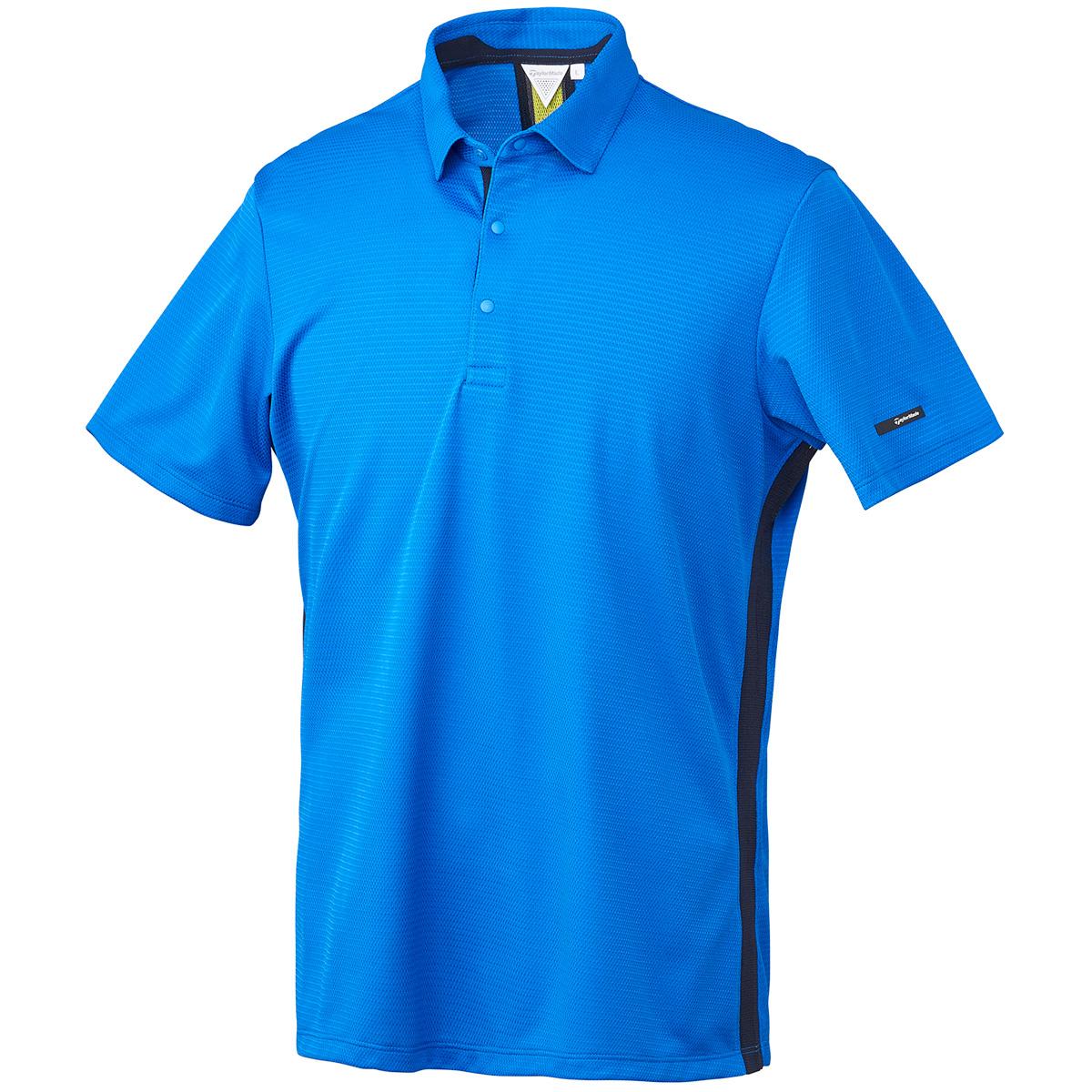 グラフィック ベンチレーション 半袖ポロシャツ