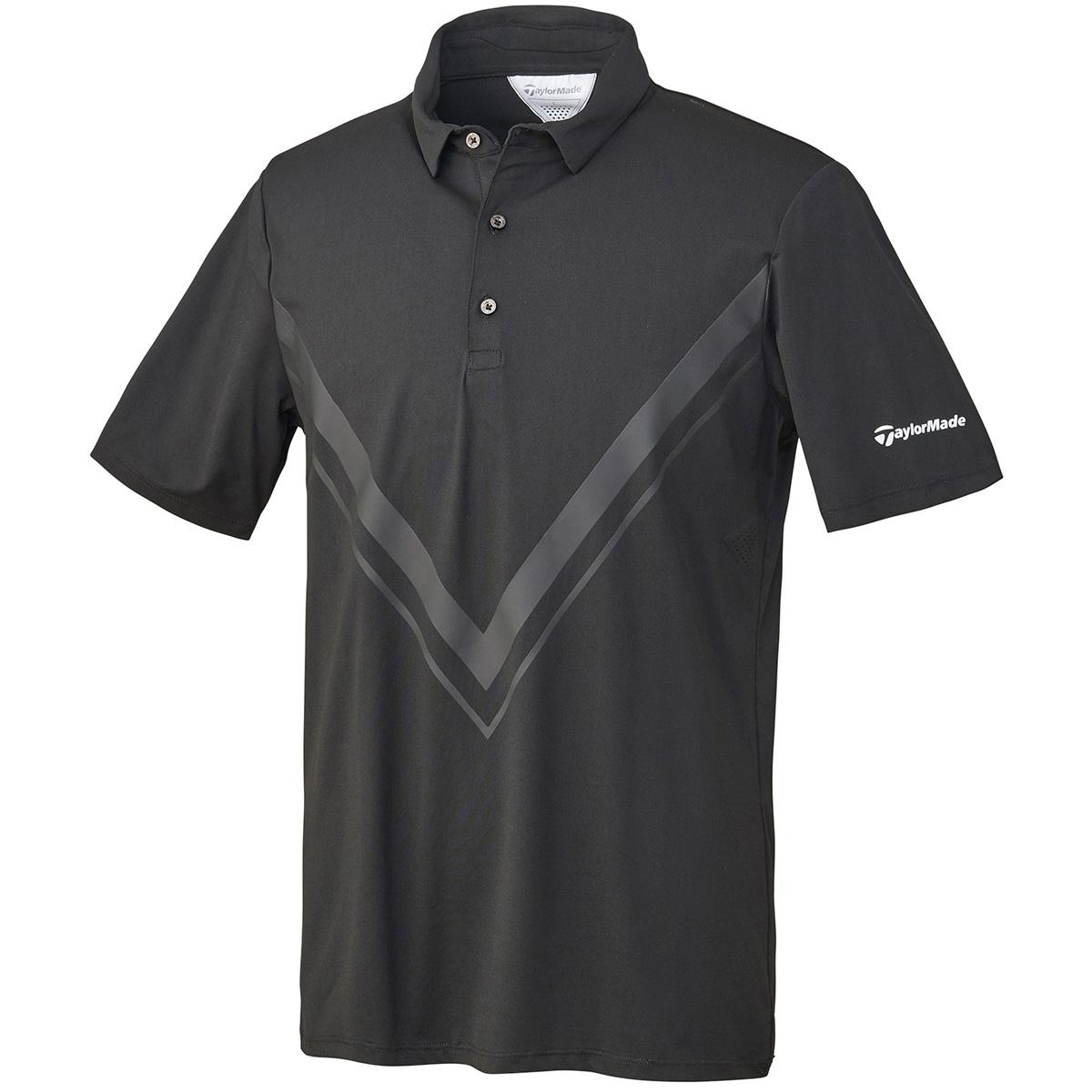 ストレッチ ビッググラフィック 半袖ポロシャツ