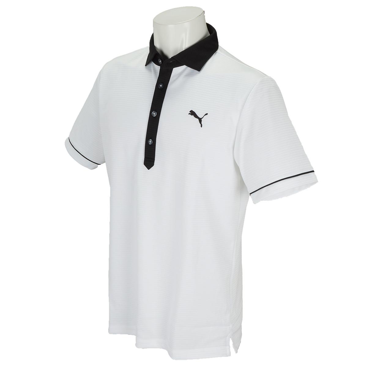 クレリックカラー 半袖ポロシャツ
