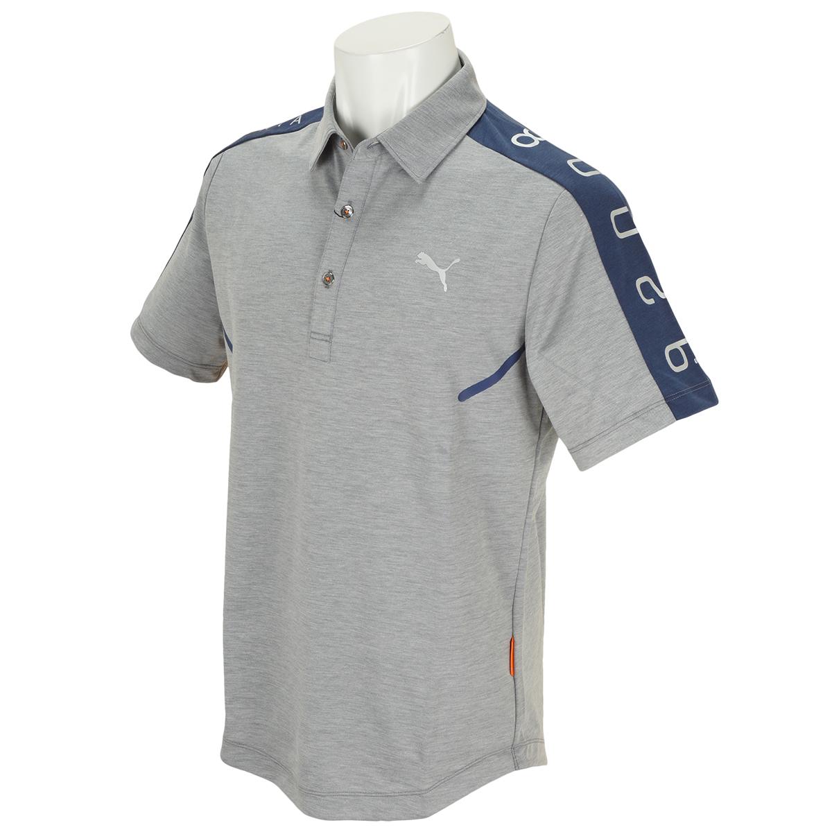 California Collection ショルダー パネル 半袖ポロシャツ