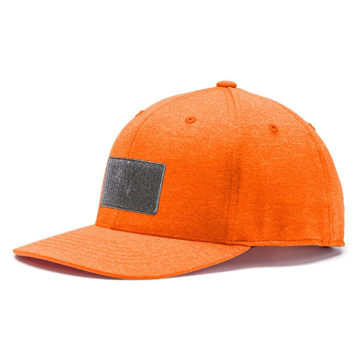 プーマ PUMA パッチ 110 スナップバックキャップ フリー ビブラントオレンジ 05