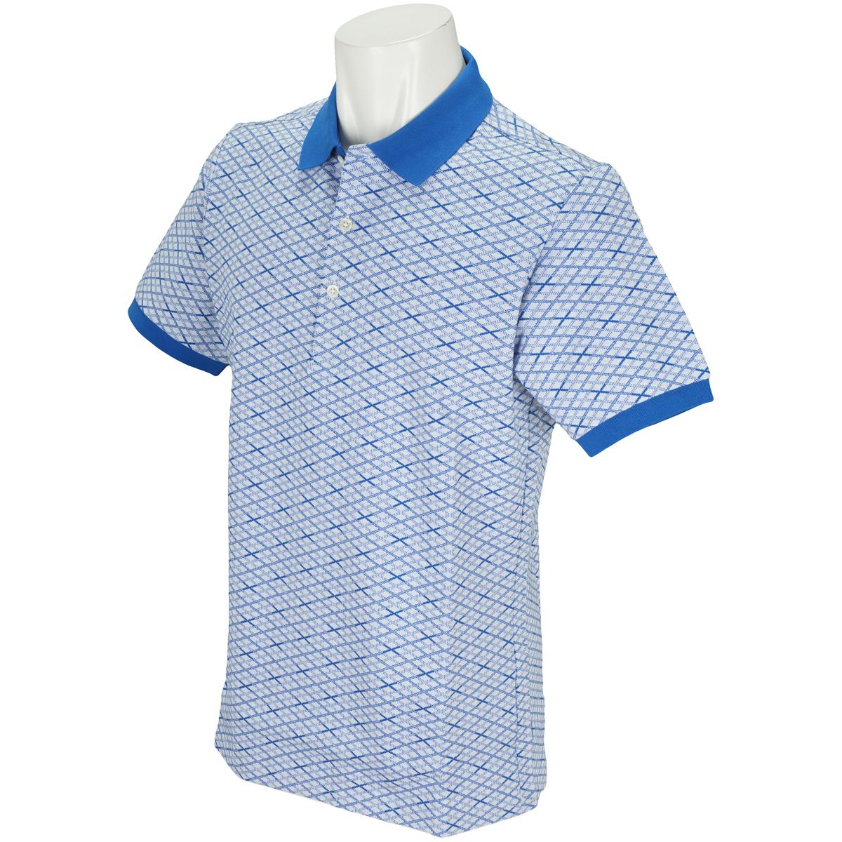 WhiteLabel クロス 半袖ポロシャツ