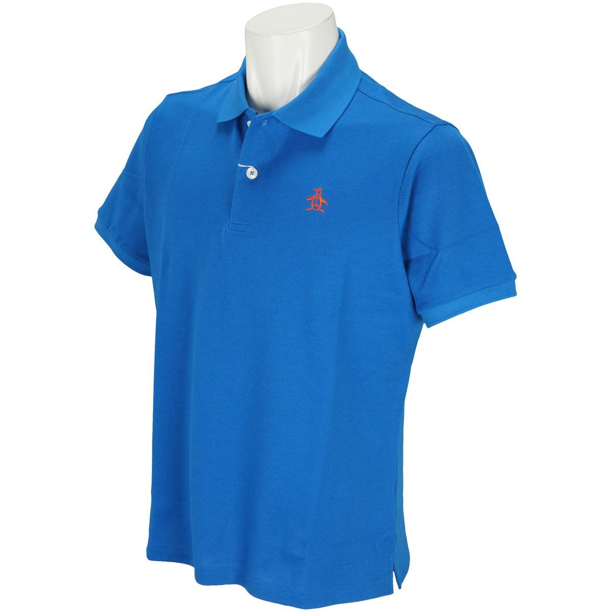 マンシングウェア Munsingwear ONE THING 半袖ポロシャツ L ロイヤルブルー B357