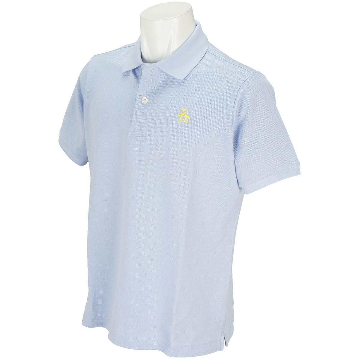 マンシングウェア Munsingwear ONE THING 半袖ポロシャツ LL 淡ブルー M714