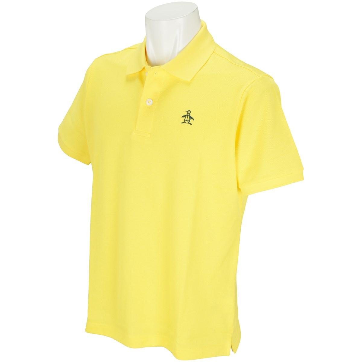 マンシングウェア Munsingwear ONE THING 半袖ポロシャツ LL イエロー Y909