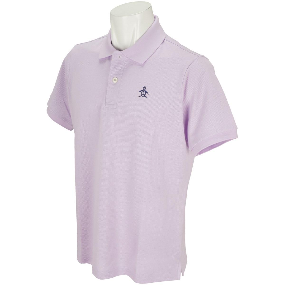 マンシングウェア Munsingwear ONE THING 半袖ポロシャツ L パープル P806