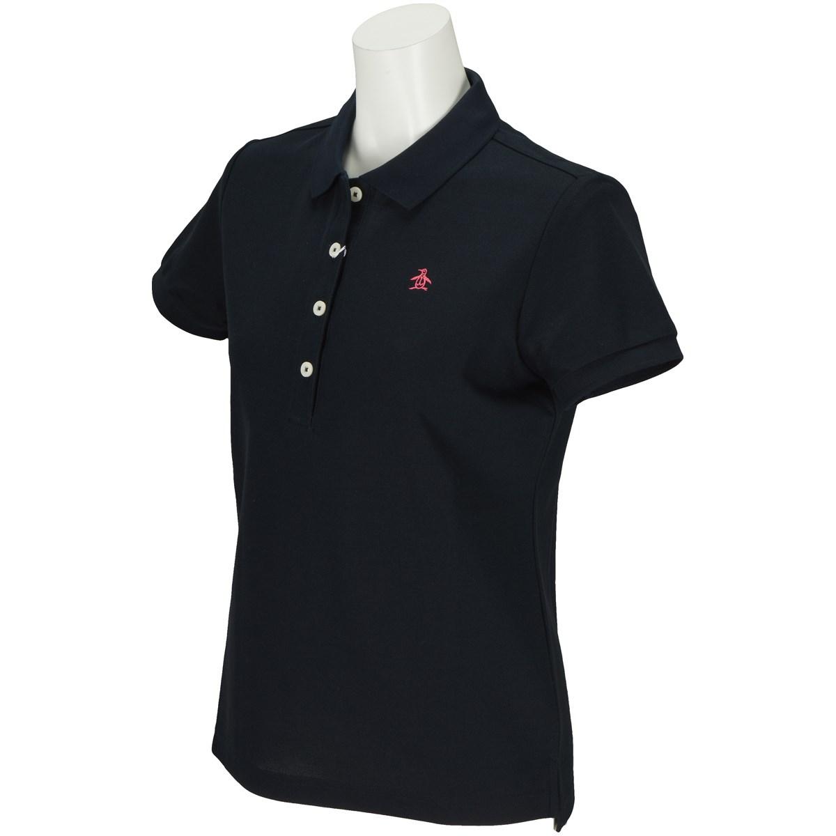 マンシングウェア Munsingwear 半袖ポロシャツ M ネイビー M133 レディス