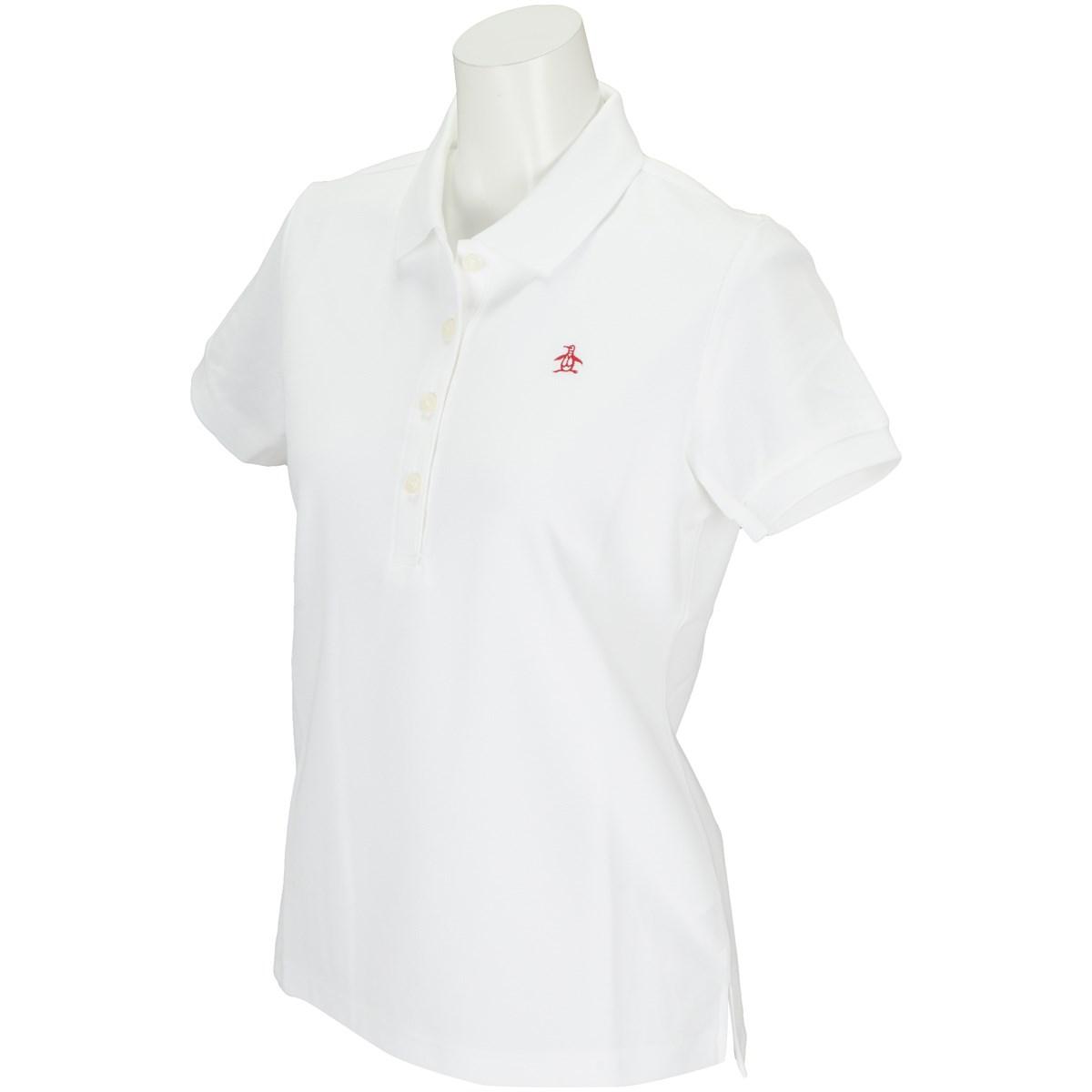 マンシングウェア Munsingwear 半袖ポロシャツ S ホワイト N950 レディス