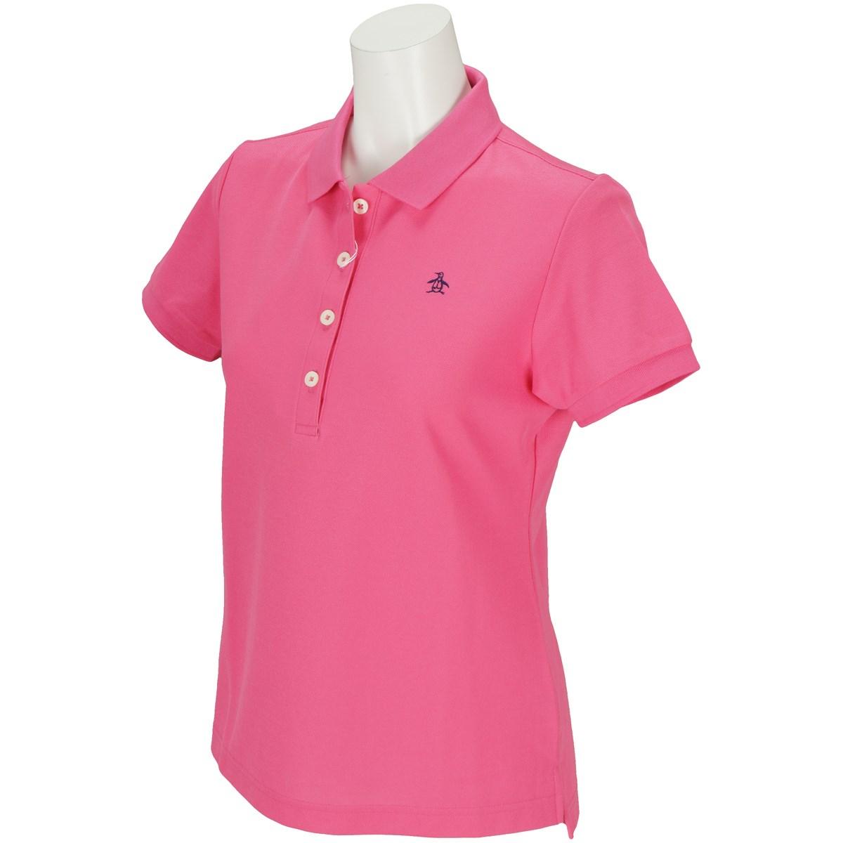 マンシングウェア Munsingwear 半袖ポロシャツ 3L 濃ピンク W559 レディス