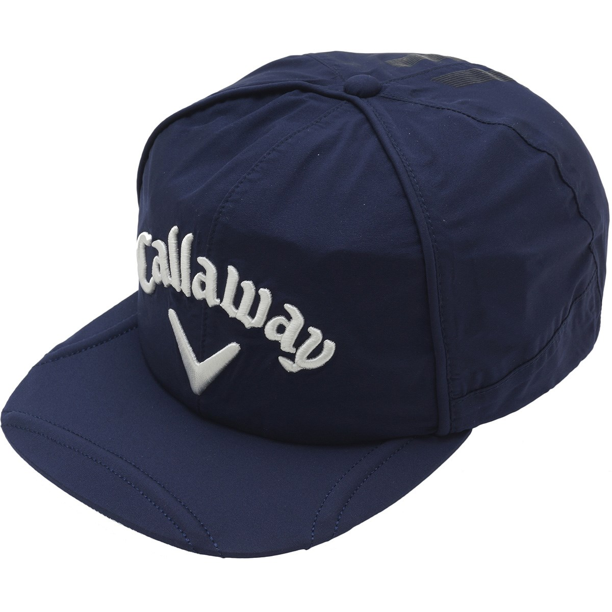 キャロウェイゴルフ Callaway Golf ストレッチ 平つばレインキャップ フリー ネイビー 120