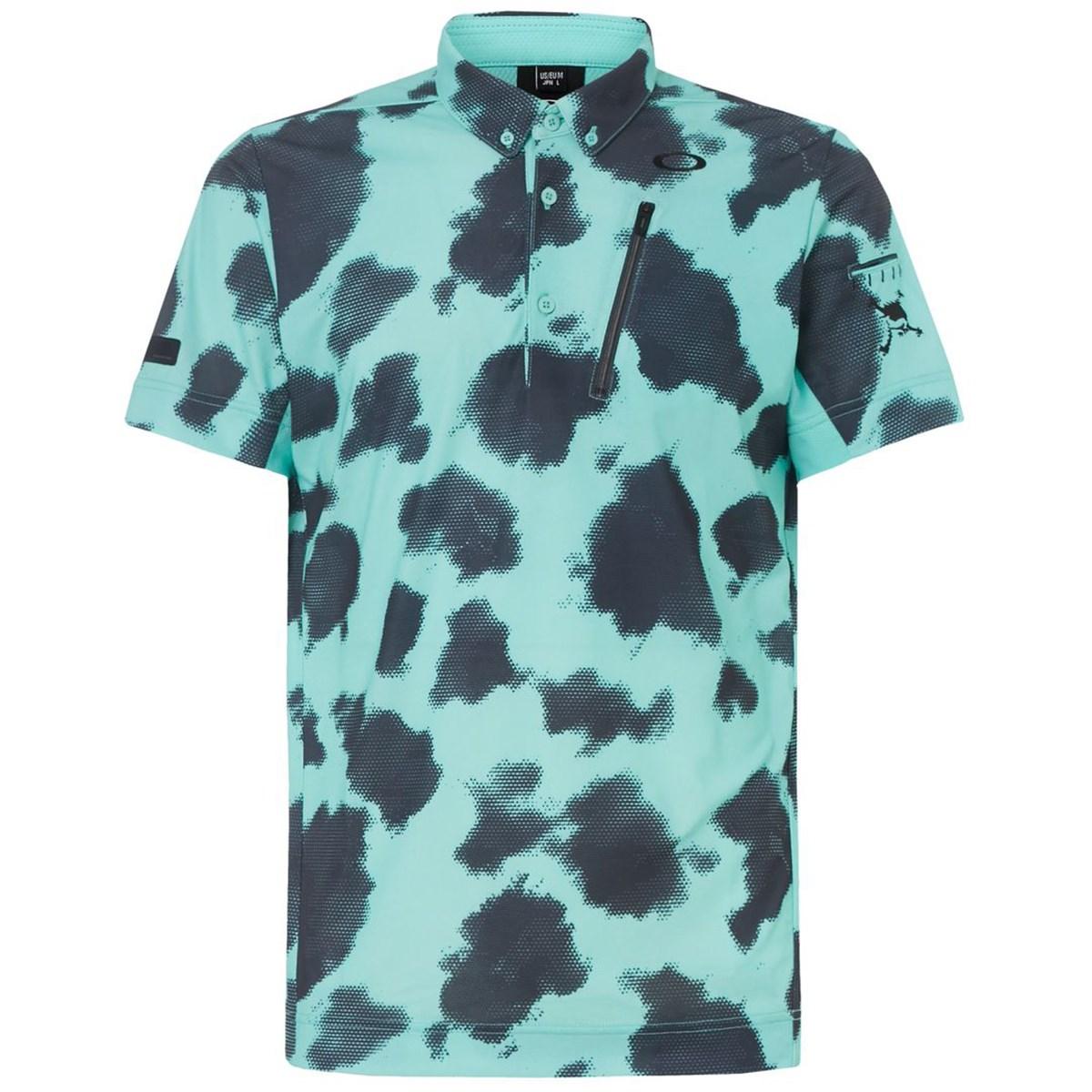 オークリー(OAKLEY) スカル MOTTLE 半袖ポロシャツ