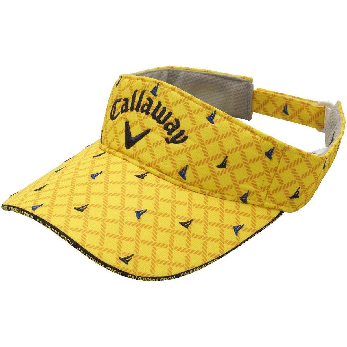 キャロウェイゴルフ(Callaway Golf) ロゴ刺繍サンバイザー