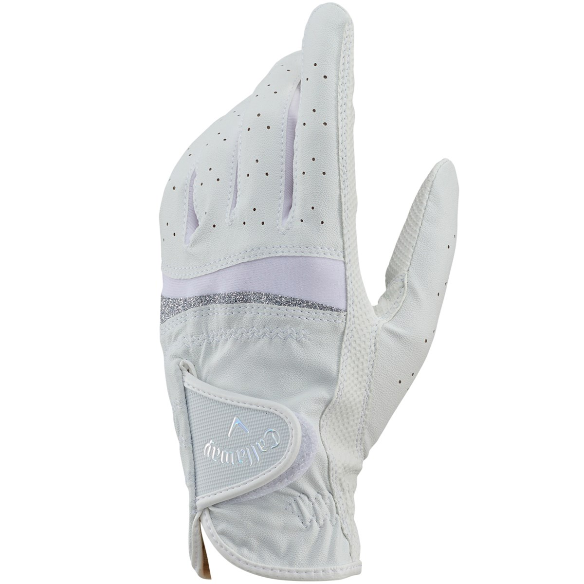 キャロウェイゴルフ Callaway Golf STYLE JM グローブ 18cm 左手着用(右利き用) ホワイト/シルバー レディス
