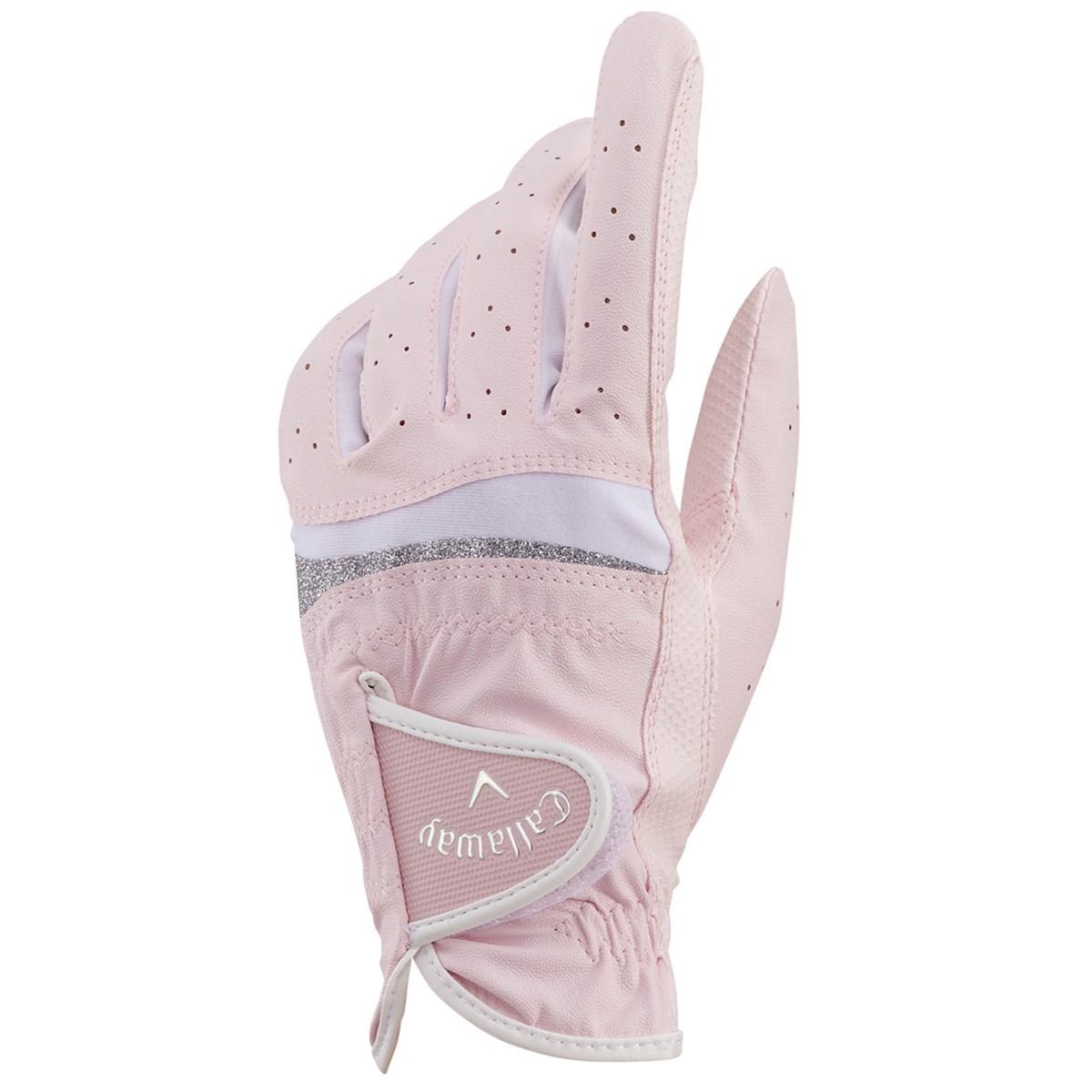 キャロウェイゴルフ Callaway Golf STYLE JM グローブ 19cm 左手着用(右利き用) ピンク レディス