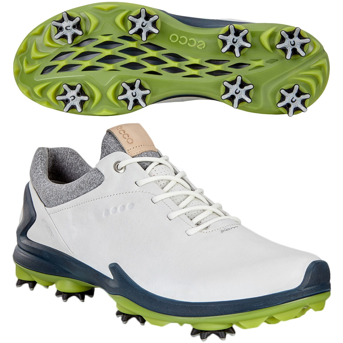 ecco エコー ゴルフ バイオム G3 GTX シューズ 25.5cm/EUサイズ40 ホワイト