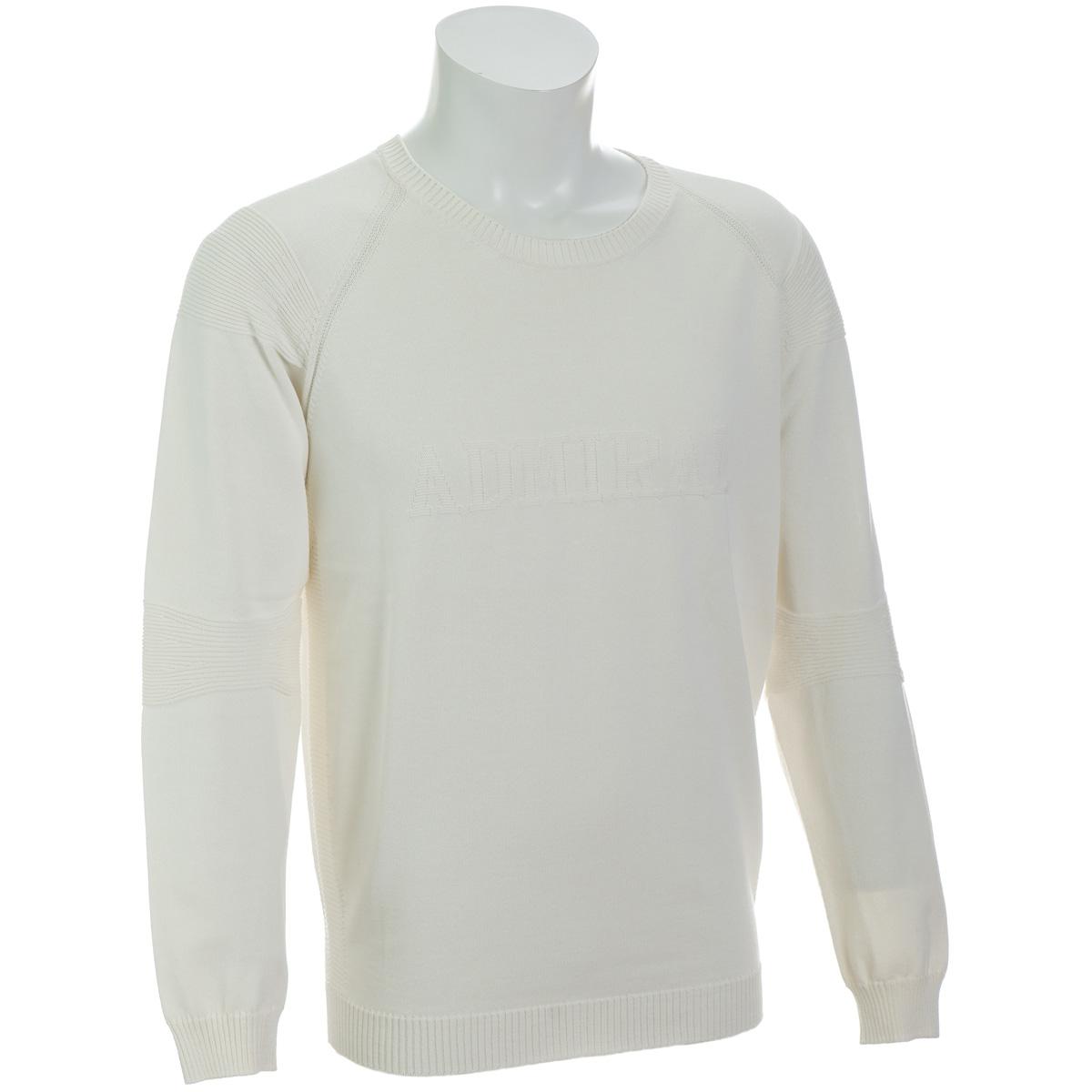 ホールガーメント クルーネックセーター