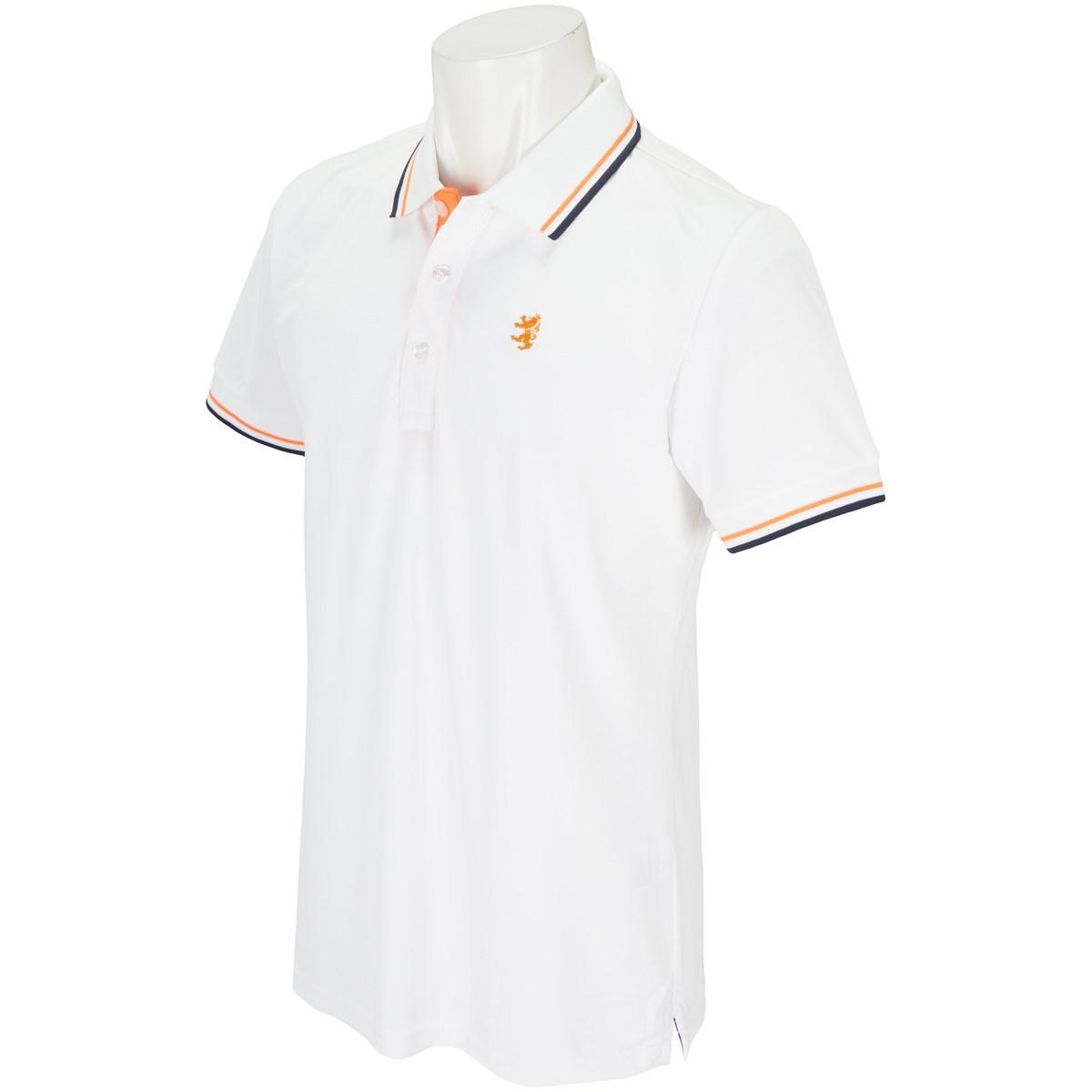 アドミラル Admiral GDO限定 レイブロック半袖ポロシャツ M ホワイト 00