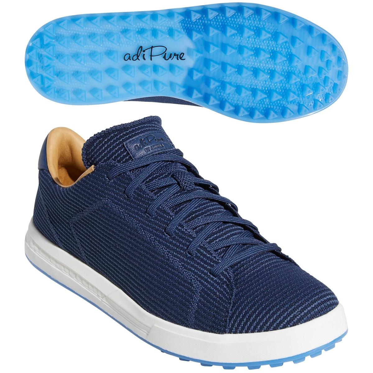 アディダス Adidas アディピュア SP ニット シューズ 24.5cm リッチブルー/カレッジネイビー/トゥルーブルー BB7890