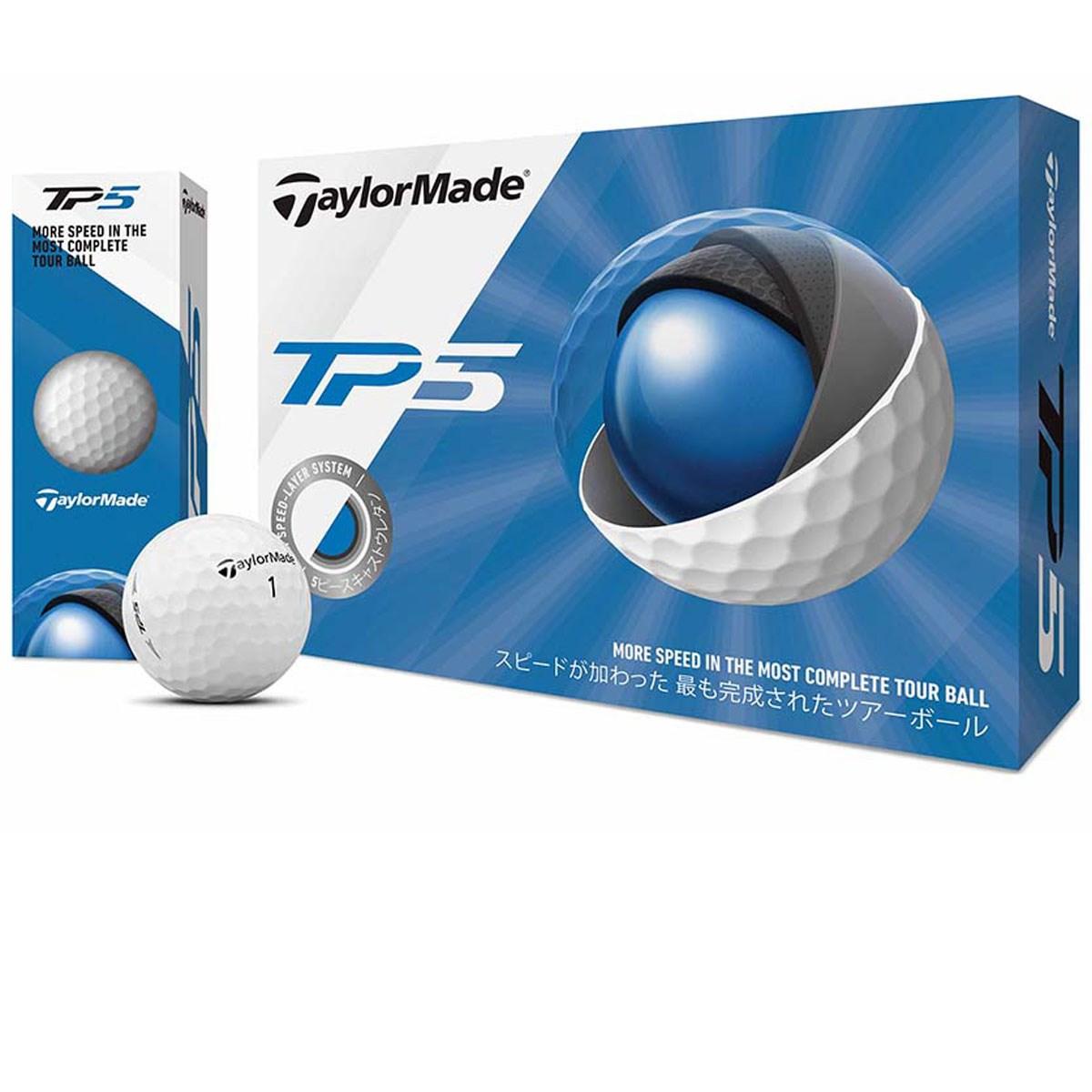 テーラーメイド TP TP5 ボール 1ダース(12個入り) ホワイト