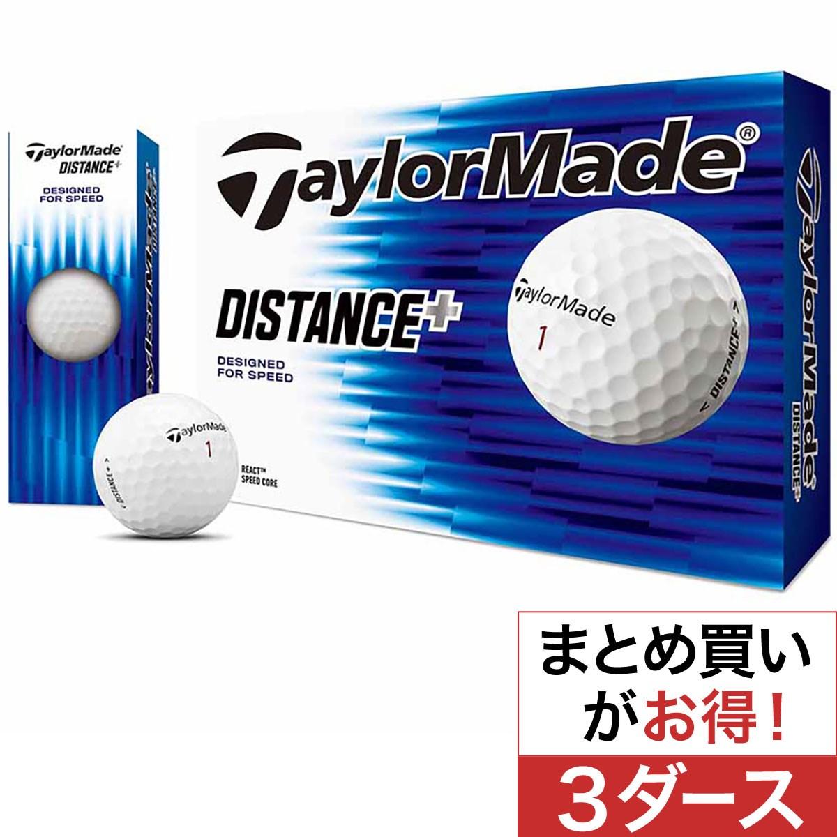 テーラーメイド(Taylor Made) DISTANCE+ ボール 3ダースセット