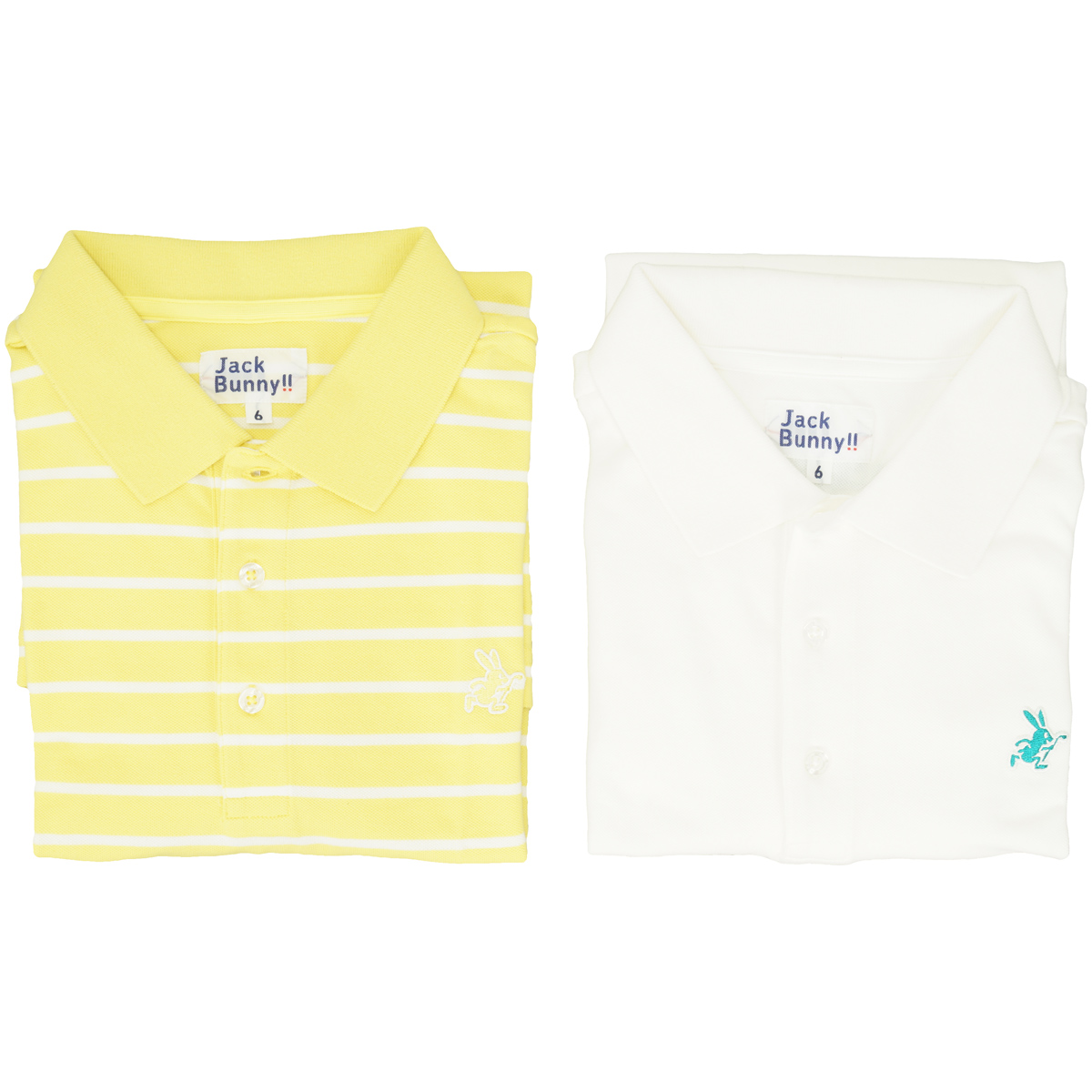 ベア鹿の子 半袖ポロシャツ 2枚セット