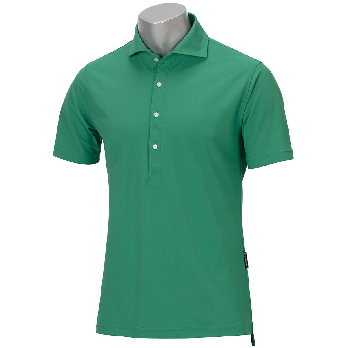 GDO オリジナル GDO ORIGINAL ホリゾンタルカラーシャツ XXL グリーン