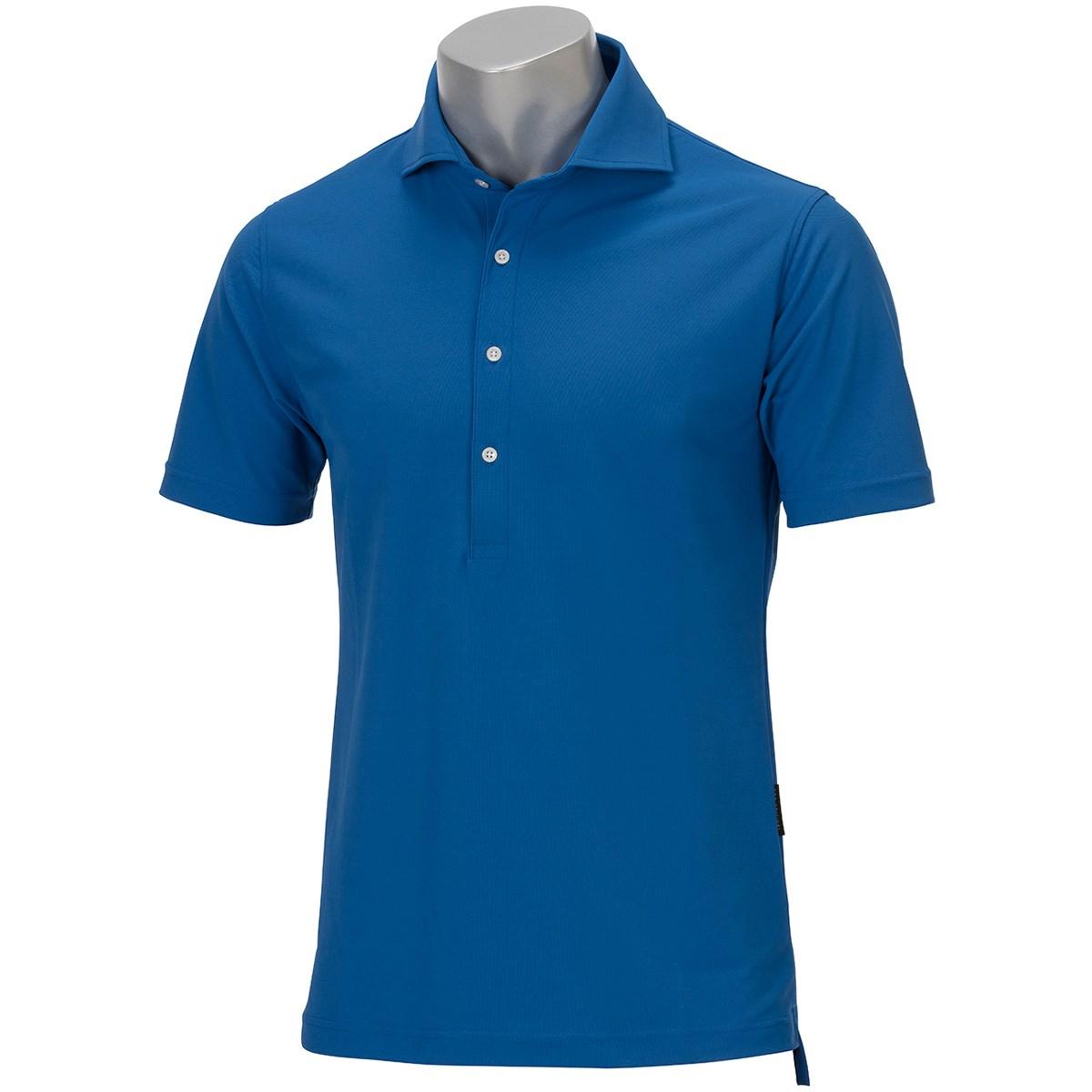 GDO オリジナル GDO ORIGINAL ホリゾンタルカラーシャツ XXL ブルー