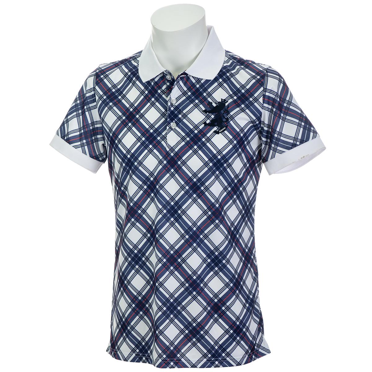 ビッグチェック 半袖ポロシャツ