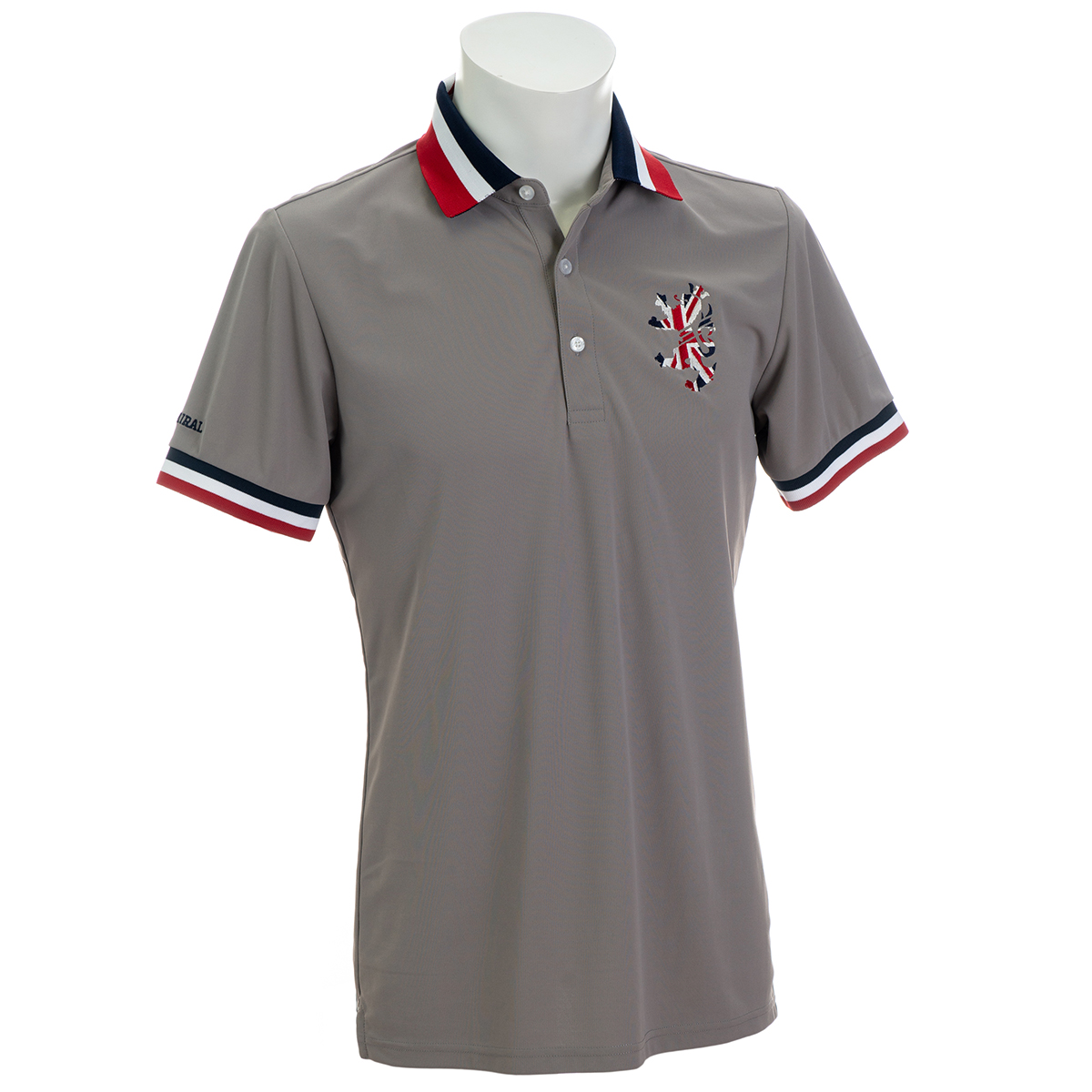 UJ襟 半袖ポロシャツ