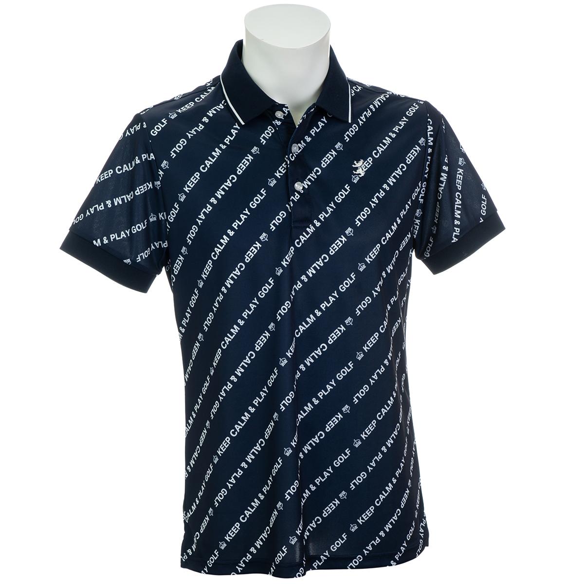 バイアスメッセージ 半袖ポロシャツ