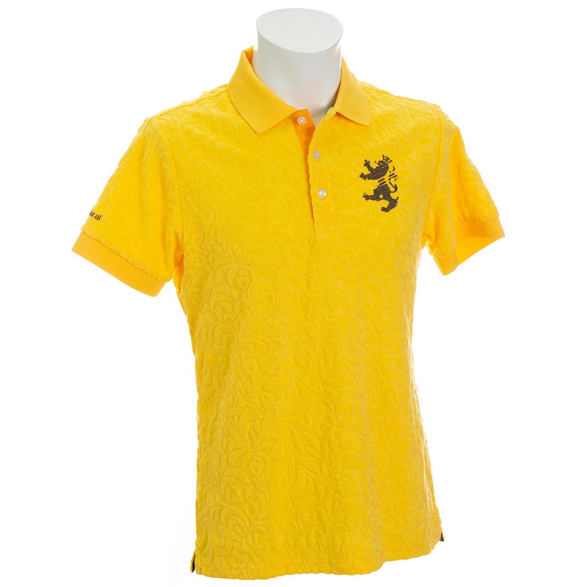 リーフパイル ストレッチ半袖ポロシャツ