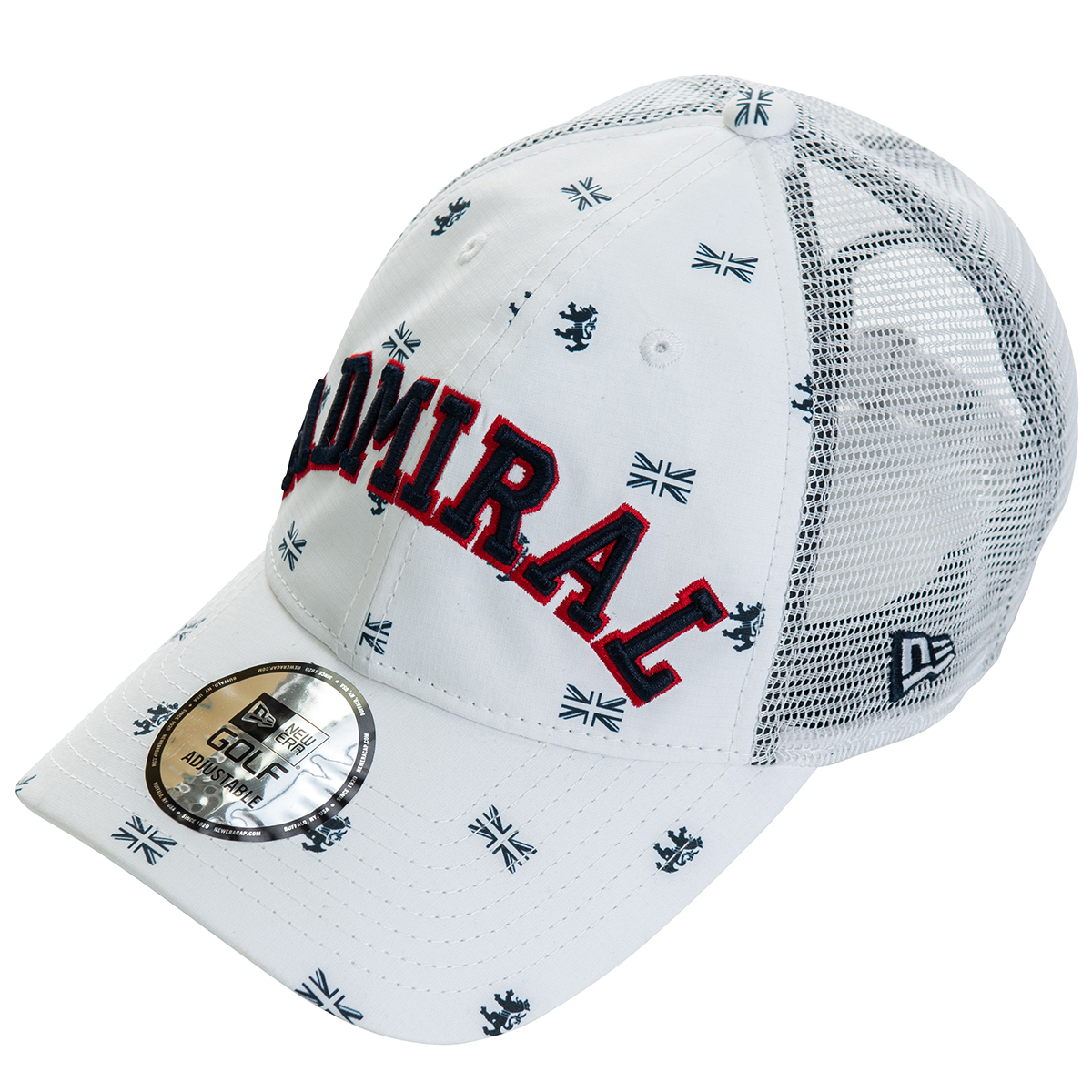 NEWERA×ADMIRAL BELL OASIS キャップ