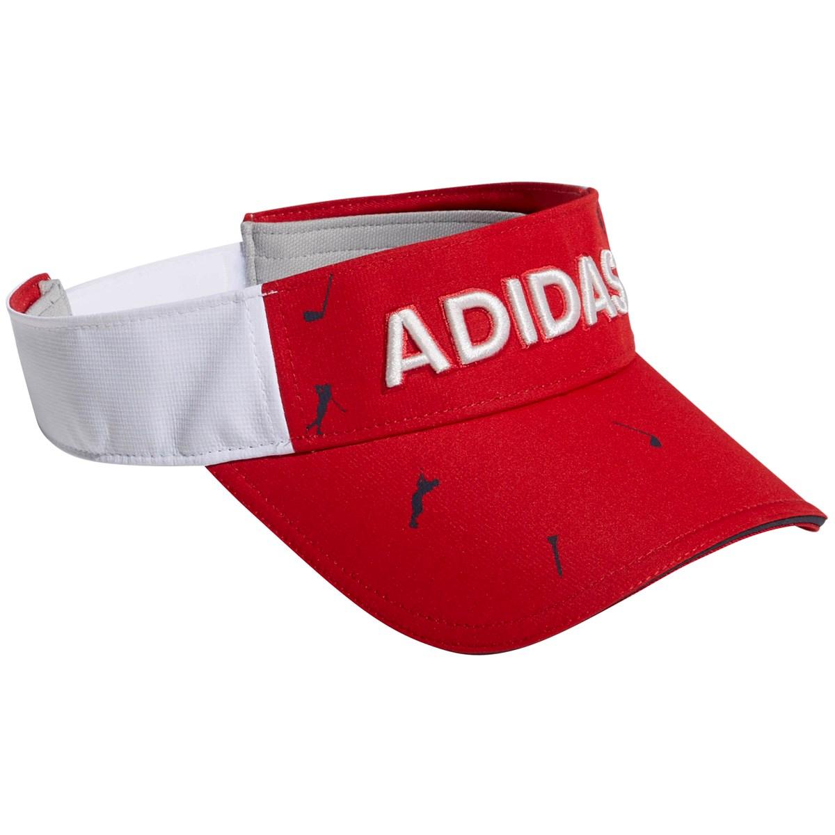 アディダス(adidas) ADICROSS モノグラムプリントサンバイザー