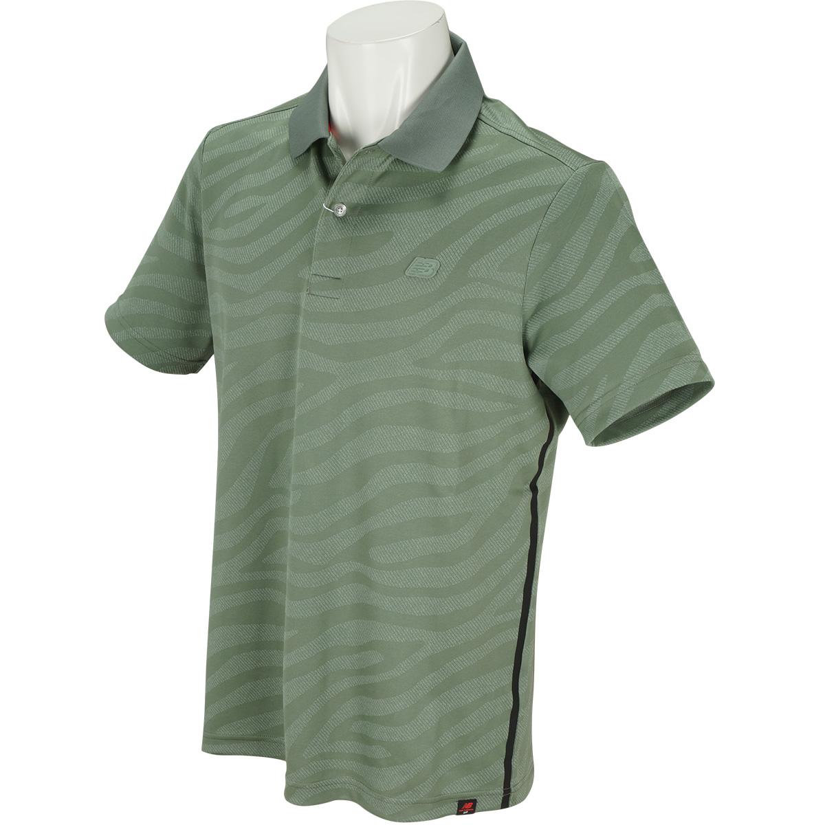 SPORT ゼブラ半袖ポロシャツ
