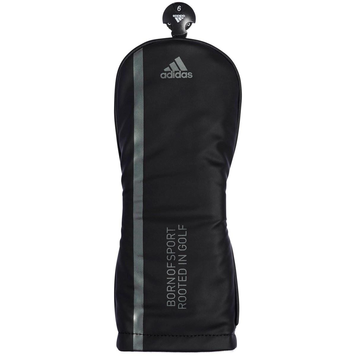 [2019年モデル] アディダス adidas マット ヘッドカバー FW用 ブラック メンズ ゴルフ