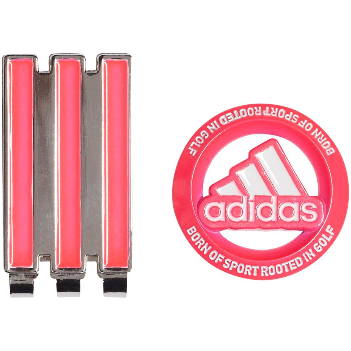 アディダス Adidas ネオンカラークリップマーカー ピンク