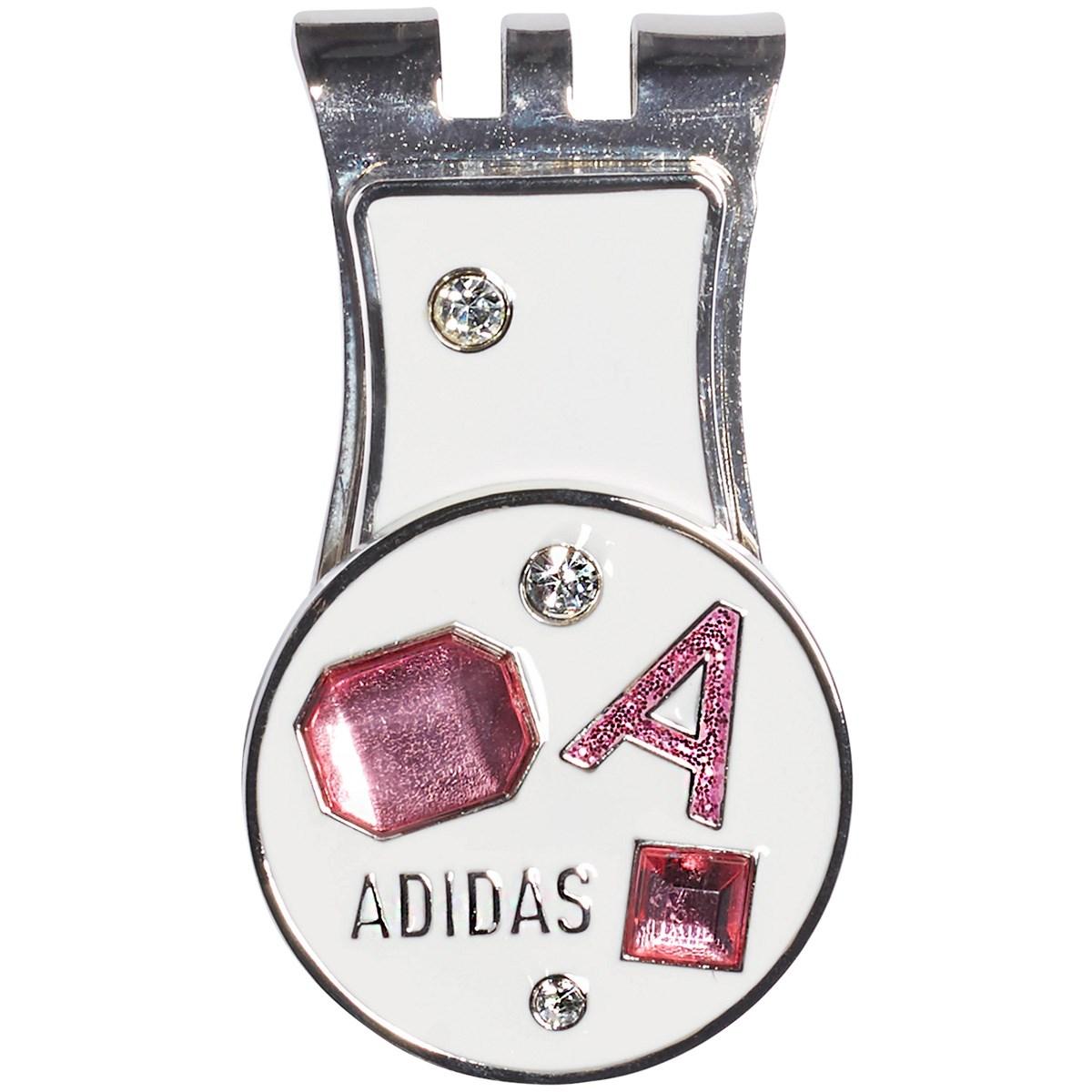 アディダス Adidas ストーンポケットコインマーカー ホワイト