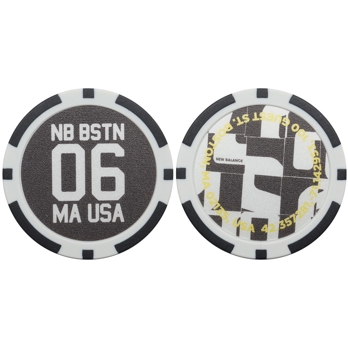 METRO モンタージュプリント×ロゴ カジノマーカー