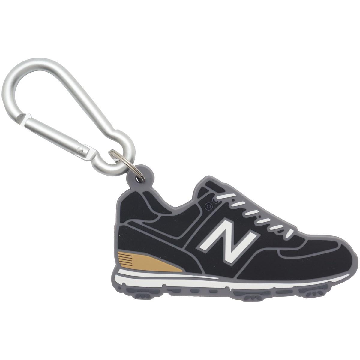 ニューバランス New Balance METRO シリコンフットウェア ネームプレート ブラック 010