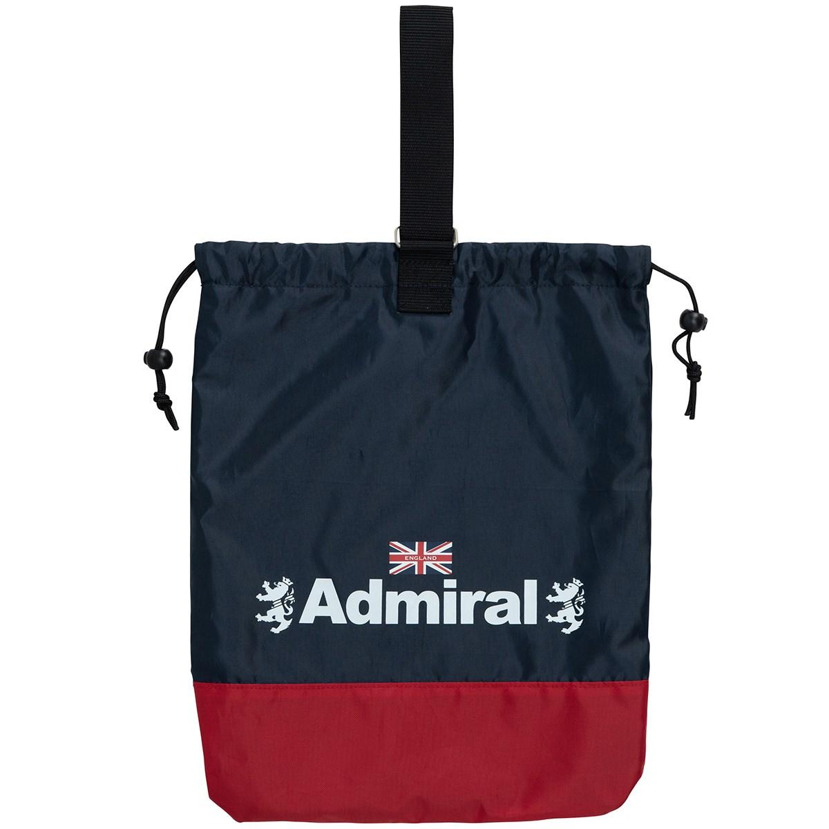 アドミラル Admiral 巾着シューズケース トリコロール 90